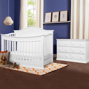 Davinci Meadow 2 Piece Nursery Set 4 In 1 Convertible Crib And Signature 6