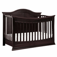 DaVinci Meadow 4-in-1 Convertible Crib in Dark Java