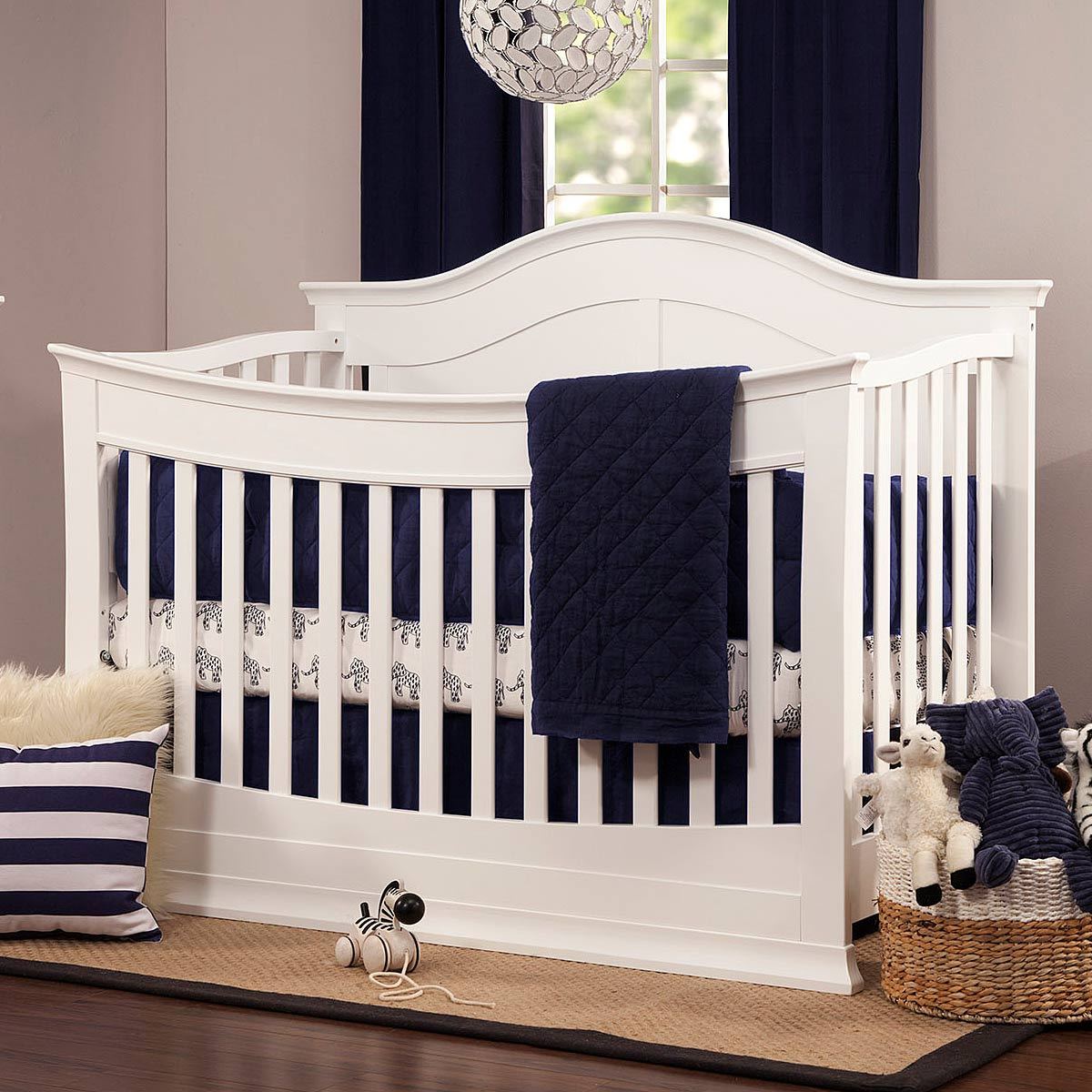 davinci meadow 4in1 convertible crib with toddler bed conversion kit in white free shipping