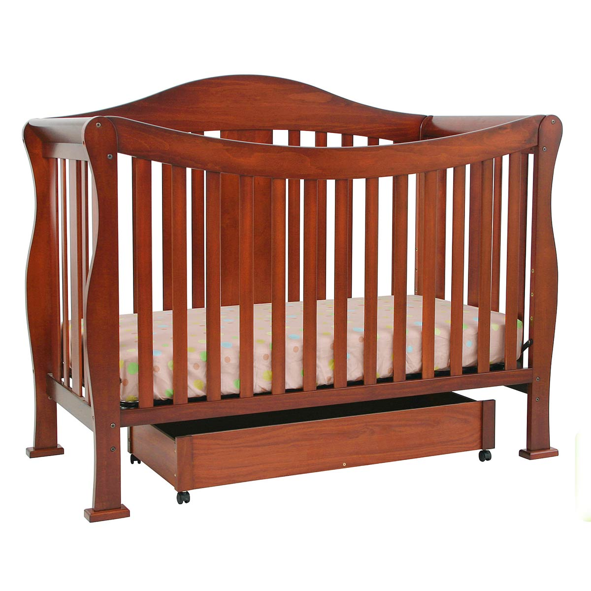 DaVinci Parker 4 In 1 Convertible Crib In Cherry K5101C FREE SHIPPING