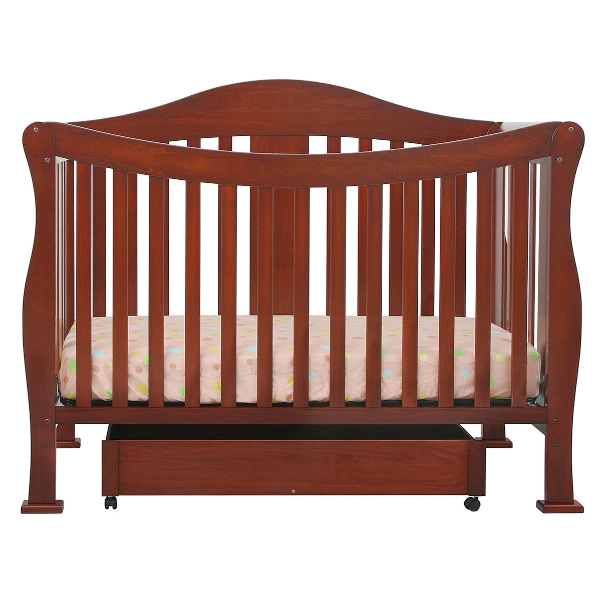 mini rail crib lusso century shipping free frost in with cribs