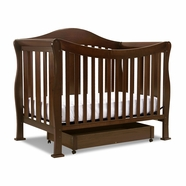 DaVinci Parker 4 in 1 Convertible Crib in Coffee
