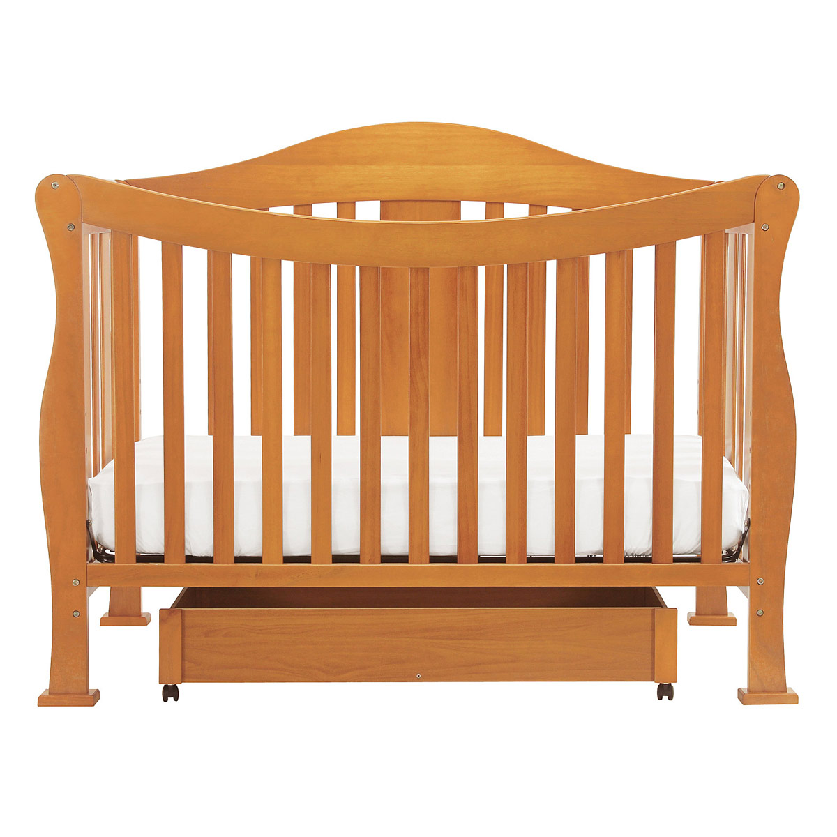 davinci parker 4 in 1 convertible crib in oak k5101o free shipping rh simplybabyfurniture com Parker Coffee DaVinci DaVinci Parker Crib Oak