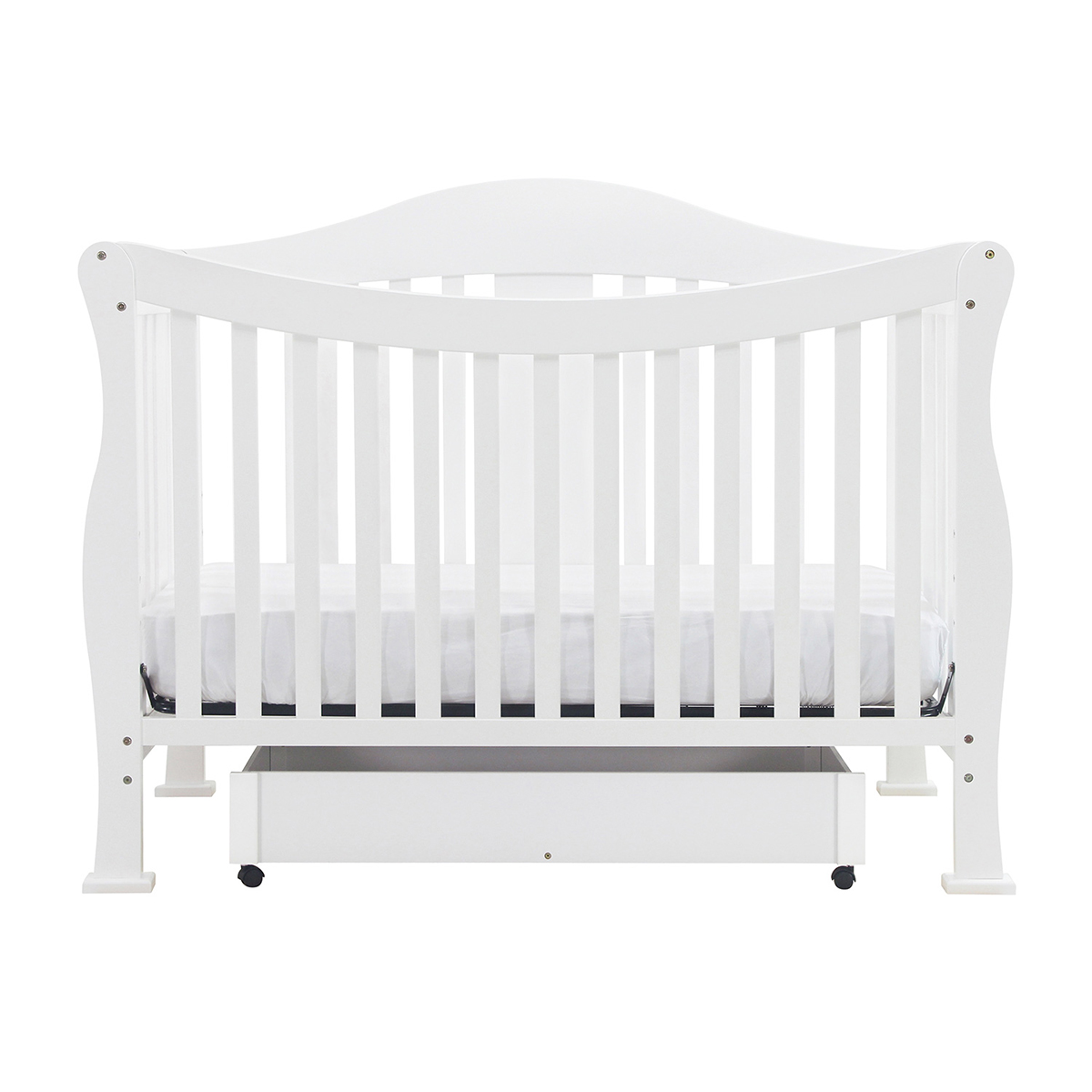 cribs convertible rails crib by as in baby toddler parker bed raw shown w magnifier pure davinci million dollar collection white