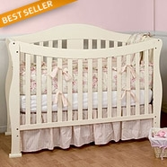 DaVinci Parker Convertible Crib Sets in White