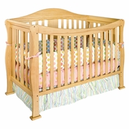 DaVinci Parker Convertible Crib with Toddler Rail in Natural