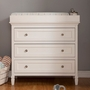 Davinci Perse 3-Drawer Changer  in White
