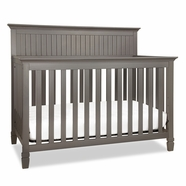 DaVinci Perse 4-in-1 Convertible Crib in Slate