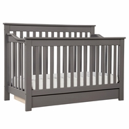 DaVinci Piedmont 4 in 1 Convertible Crib in Slate