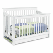 DaVinci Piedmont 4 in 1 Convertible Crib in White