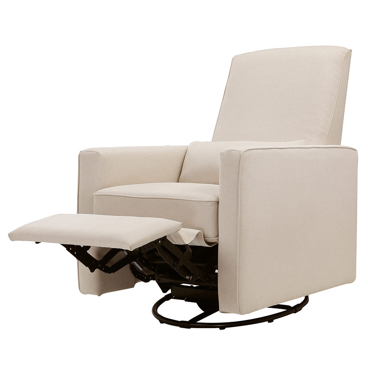 DaVinci Piper All-Purpose Upholstered Recliner in Cream Finish with Cream Piping FREE SHIPPING  sc 1 st  Simply Baby Furniture & DaVinci Piper All-Purpose Upholstered Recliner in Cream Finish ... islam-shia.org