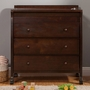 DaVinci Porter 3 Drawer Changer in Espresso