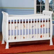 DaVinci Reagan Convertible Crib in White