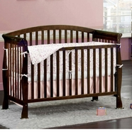 DaVinci Thompson Convertible Crib Sets in Coffee