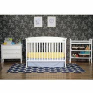 DaVinci Tyler 5 Piece Nursery Set in White