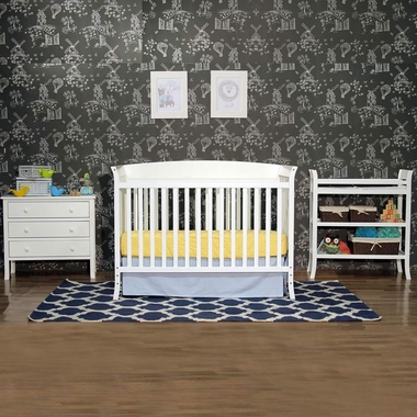 Davinci Tyler 5 Piece Nursery Set In White Click To Enlarge