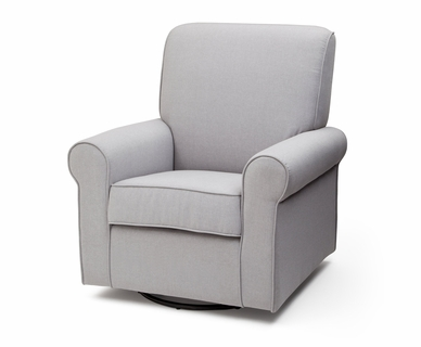 Delta Avery Glider in Heather Grey