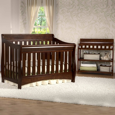 Delta Bentley 2 Piece Nursery Set Convertible Crib And
