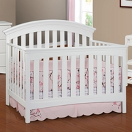 Delta Bentley Crib in White