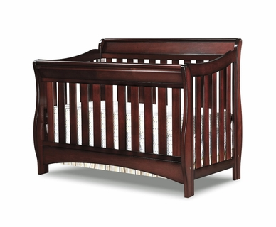 Delta Bentley 'S' Series 4-in-1 Crib in Black Cherry