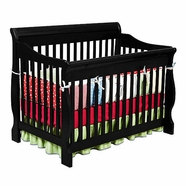 Delta Canton Crib in Black