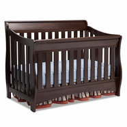 Delta Children Bentley 'S' Series 4-in-1 Crib in Chocolate