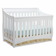 Delta Children Bentley 'S' Series 4-in-1 Crib in White