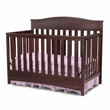 Delta Emery 4-in-1 Crib in Dark Chocolate - Click to enlarge