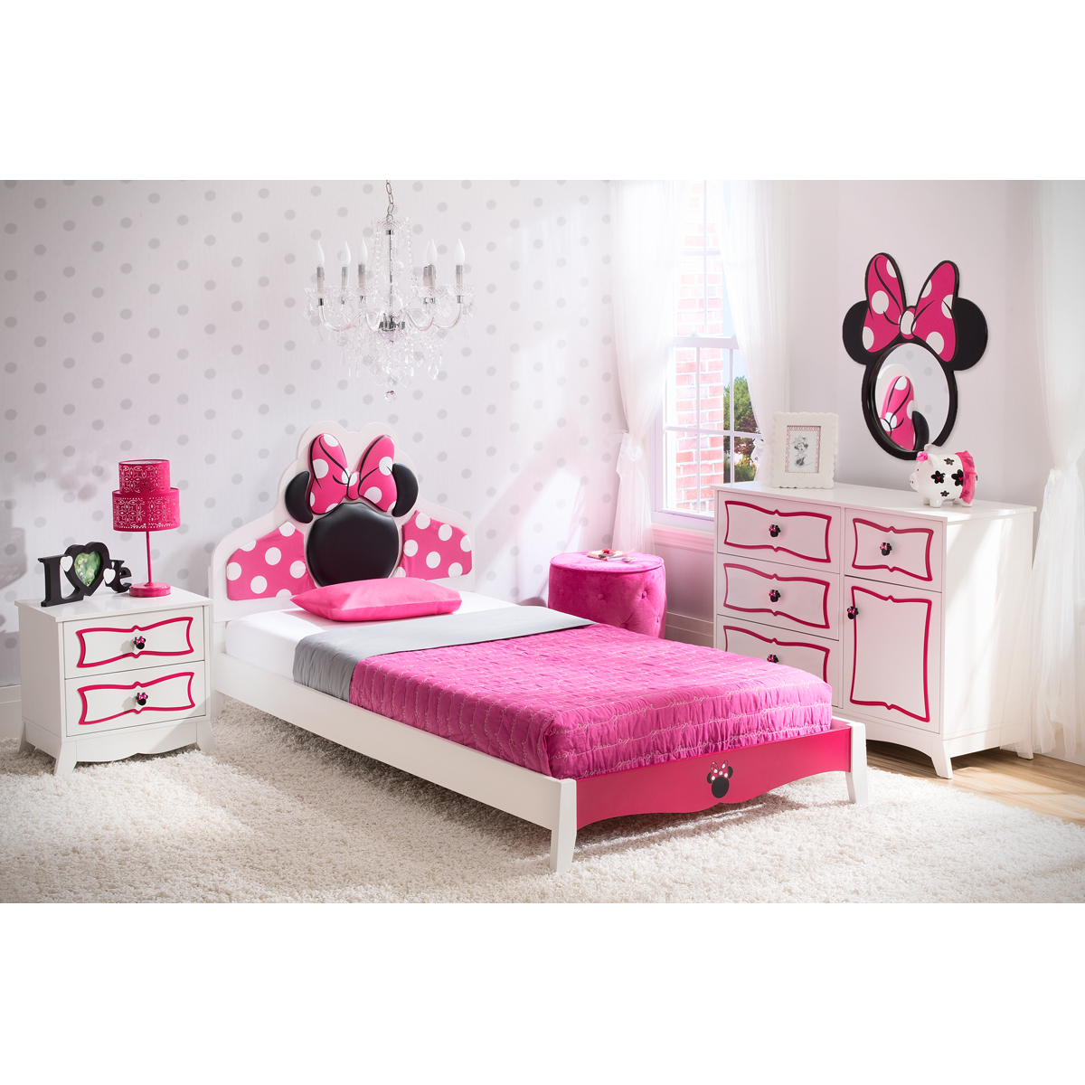 Delta Children Minnie Mouse Twin Room Collection