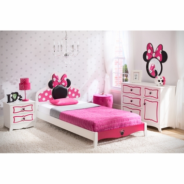 Peachy Delta Children Minnie Mouse Twin Room Collection Pdpeps Interior Chair Design Pdpepsorg