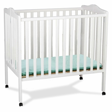 Delta Children Portable Crib In White Free Shipping 149 99
