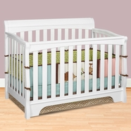 Delta Eclipse Crib in White