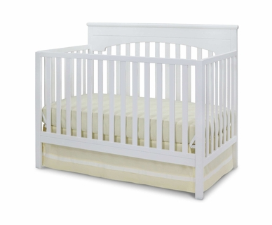 Delta Layla 4-in-1 Crib in White