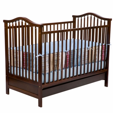 Delta Savannah 3-in-1 Convertible Crib in Cherry - Click to enlarge