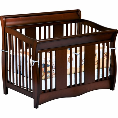 Delta Soho 5-in-1 Convertible Crib in Chocolate - Click to enlarge