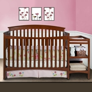 Delta Walden Crib in Spiced Cinnamon