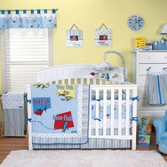 Dr. Seuss One Fish Two Fish Crib Bedding Collection by Trend Lab