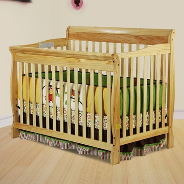Dream On Me Ashton Convertible 4 in 1 Crib in Natural - Click to enlarge
