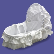 Dream on Me Bassinet in White