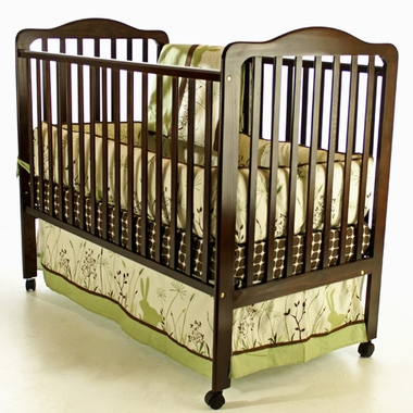 Dream On Me Cumberland 2 in 1 Convertible Crib in Espresso - Click to enlarge