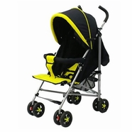 Dream on Me High Fashion Stroller with Ultra Large Hood in Yellow