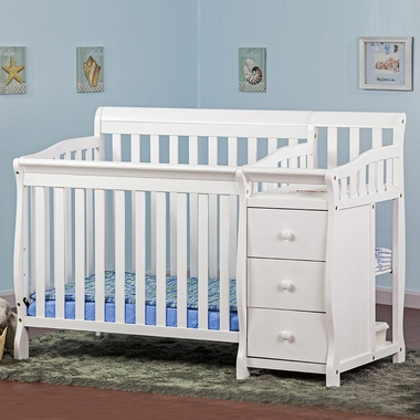 dream convertible baby crib changer white cot for sale calgary uk