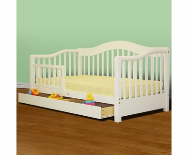 Dream on Me Toddler Day Bed in White