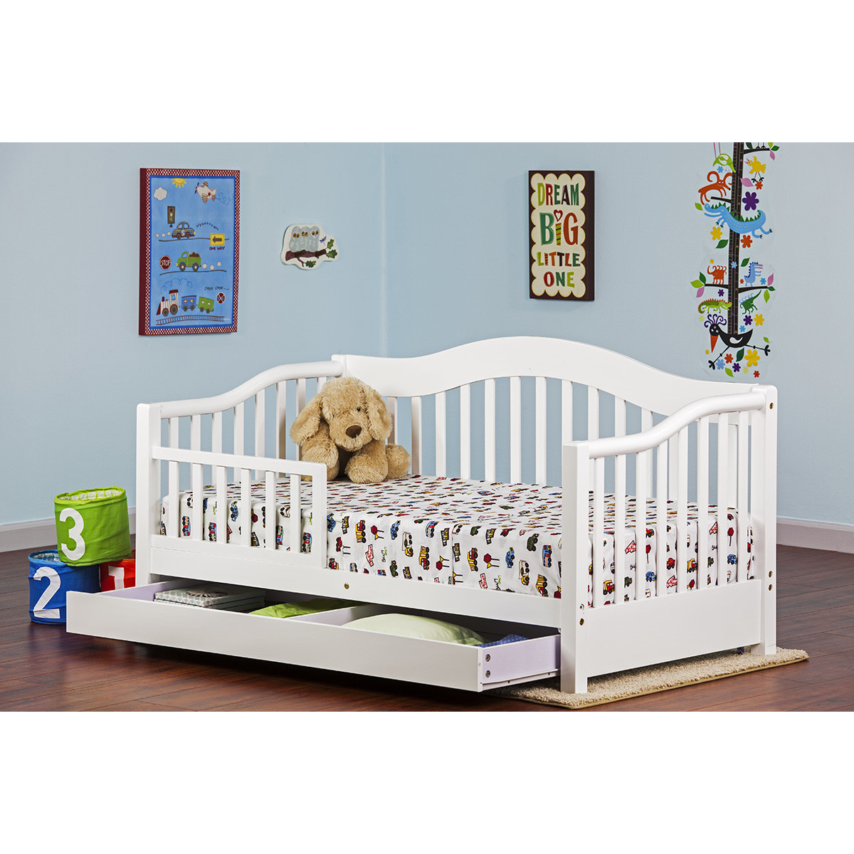 - Dream On Me Toddler Day Bed In White FREE SHIPPING - $162.00