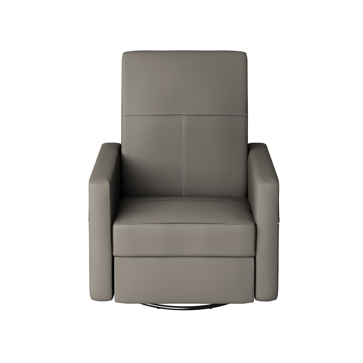 Dutailier Minho Upholstered Glider Recliner with Built-in Footrest in Matte Black with Castle Grey Fabric FREE SHIPPING  sc 1 st  Simply Baby Furniture & Dutailier Minho Upholstered Glider Recliner with Built-in Footrest ... islam-shia.org