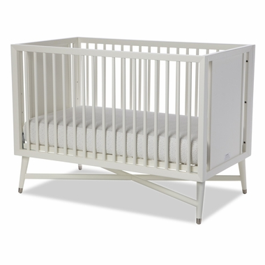 DwellStudio Mid-Century Crib in French White - Click to enlarge