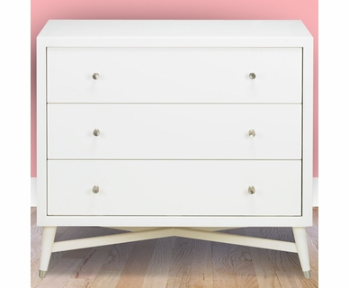 DwellStudio Mid-Century Dresser in French White