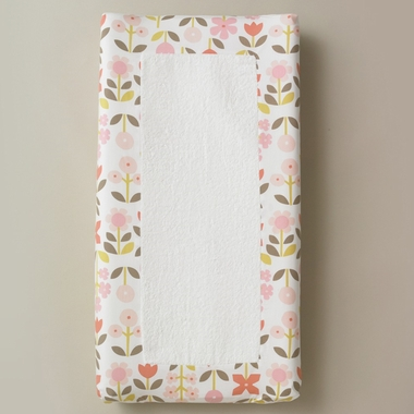 DwellStudio Rosette Blossom Changing Pad Cover - Click to enlarge