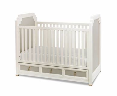 DwellStudio Vanderbilt Crib in French Gray