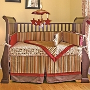 Earthtone Baby Crib Bedding Collections